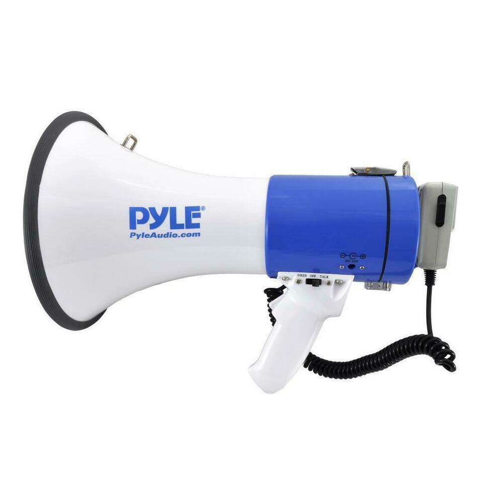 PYLE PMP50 Professional Piezo Dynamic Megaphone, Bullhorn, PA, Public Address, crowd control