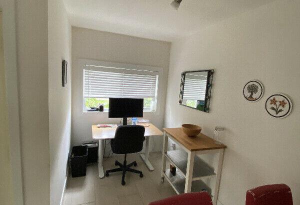Bright furnished 3-bedroom apt on Commercial – Sept to Dec
