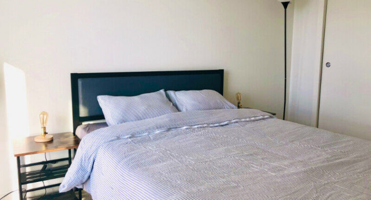 Cozy furnished condo at Metrotown with park view