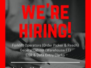 Forklift Operator/MHE