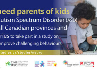 Wanted: Parents of Kids with ASD to Participate in a Study!
