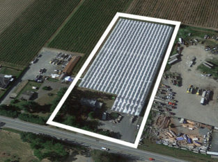 4 ACRES WITH 2.5 ACRES GREENHOUSE FACILITY