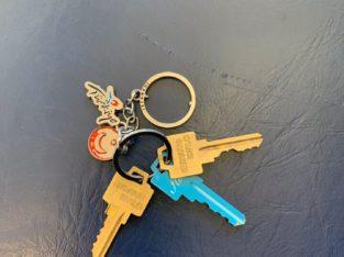 Found keys on sky train at Gilmore station