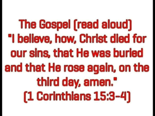 The Gospel of Salvation. Watch the video: http://j.mp/2CUY2s6